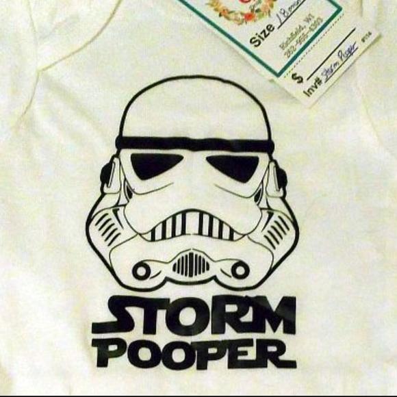Star Wars Other - Star Wars Storm Pooper Baby Onesie New